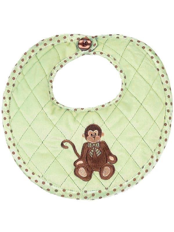 Giggles Monkey Bib