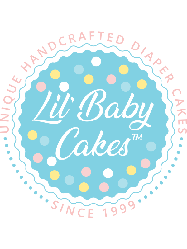 Dog Gone Cute Neutral Diaper Cake