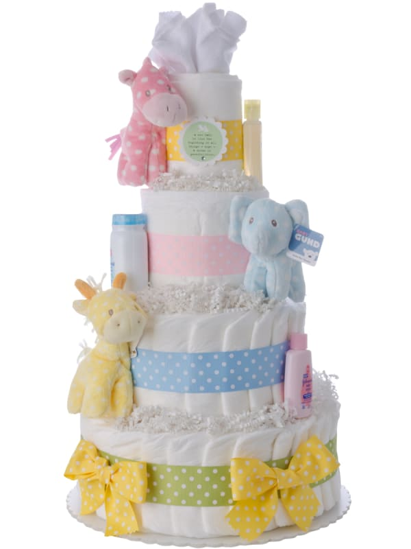 Nursery Friends Baby Diaper Cake