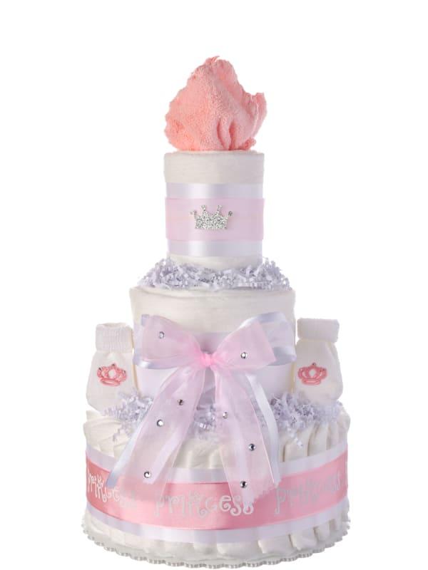 Our Lil' Princess 3 Tier Diaper Cake