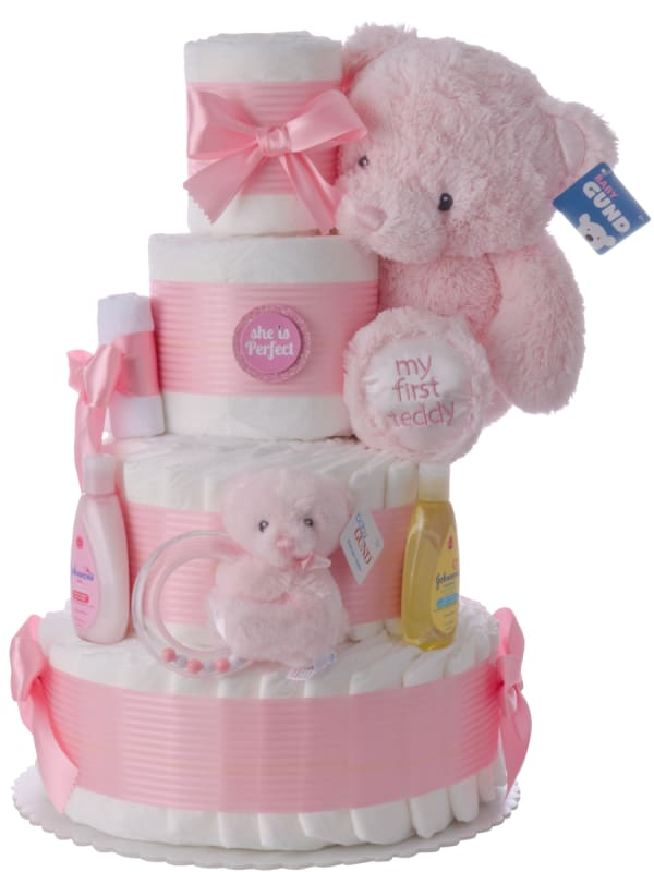 She is Perfect Baby Diaper Cake
