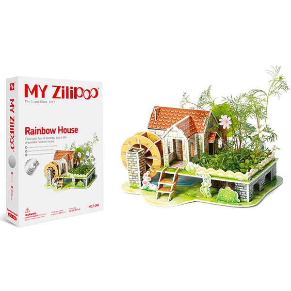 My Zilipoo 3D Puzzles With Actual Seeds (Large Size - Assorted Puzzles)