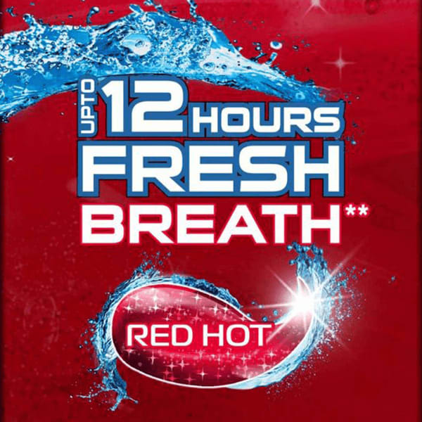 Close Up Ever Fresh Red Hot Gel Toothpaste, 40g And Free 25 % Extra
