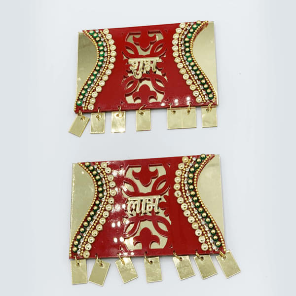 Traditional Acrylic  Handcrafted SHUBH-LABH for Diwali Decoration (Get Before Diwali)