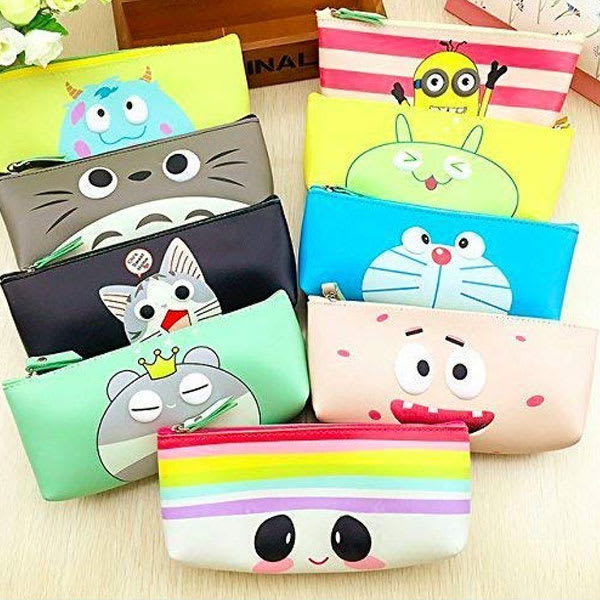 Soft silicon school pencil pouch slider 1 sjlgn9