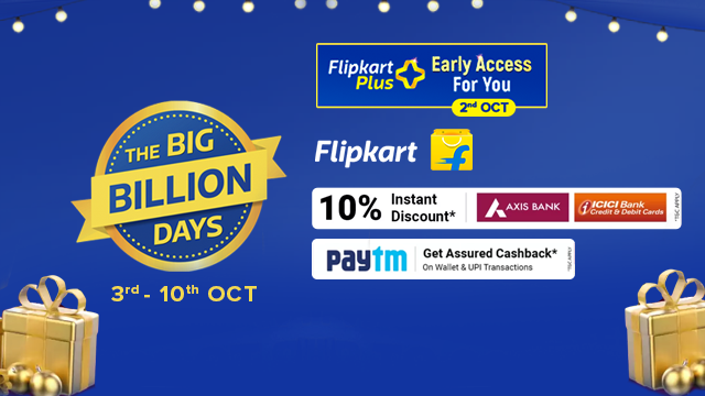 Flipkart Big Billion Days Sale 2021 Offers