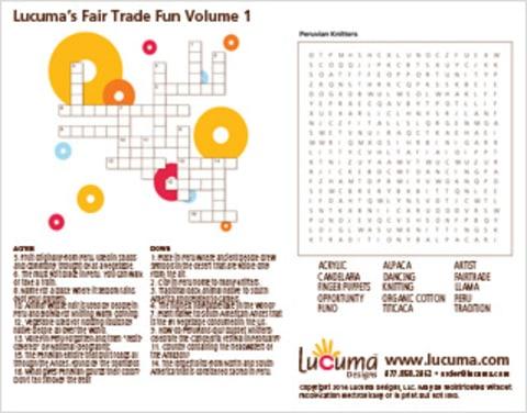 Lucuma's Fair Trade Fun 1