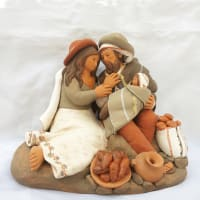 Holy Family with Bread