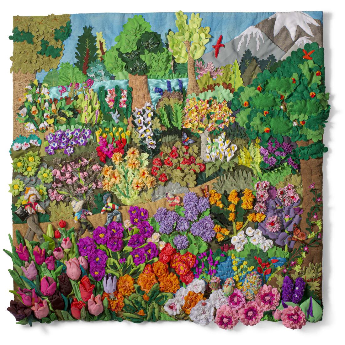 Botanical Garden - Large Square