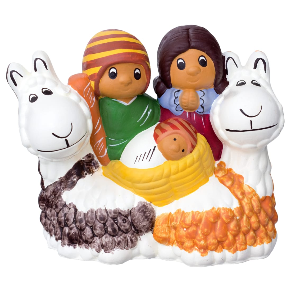 FAN133S Nativity with Llama