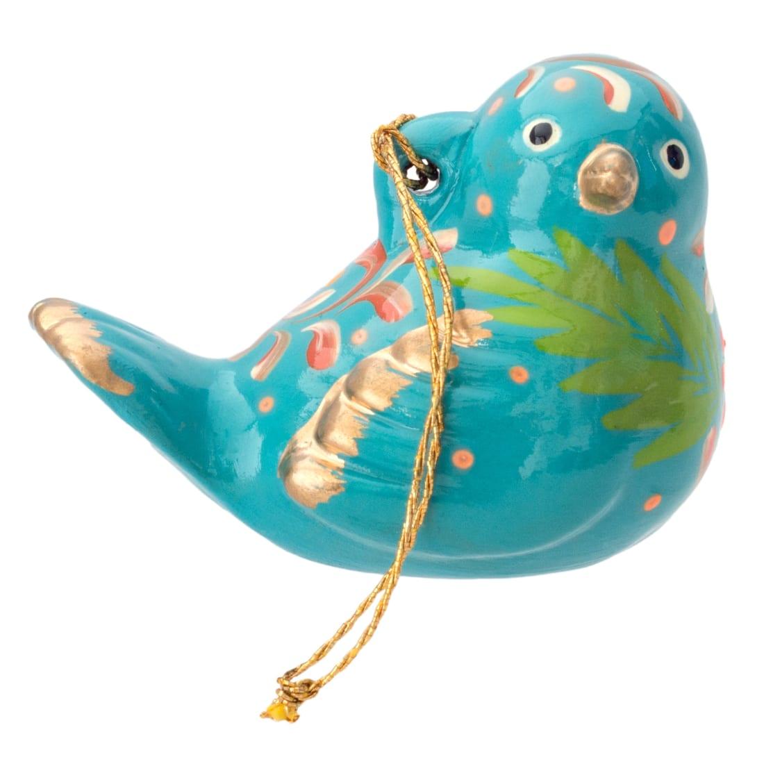 FCR158P Bird Confetti Ornament