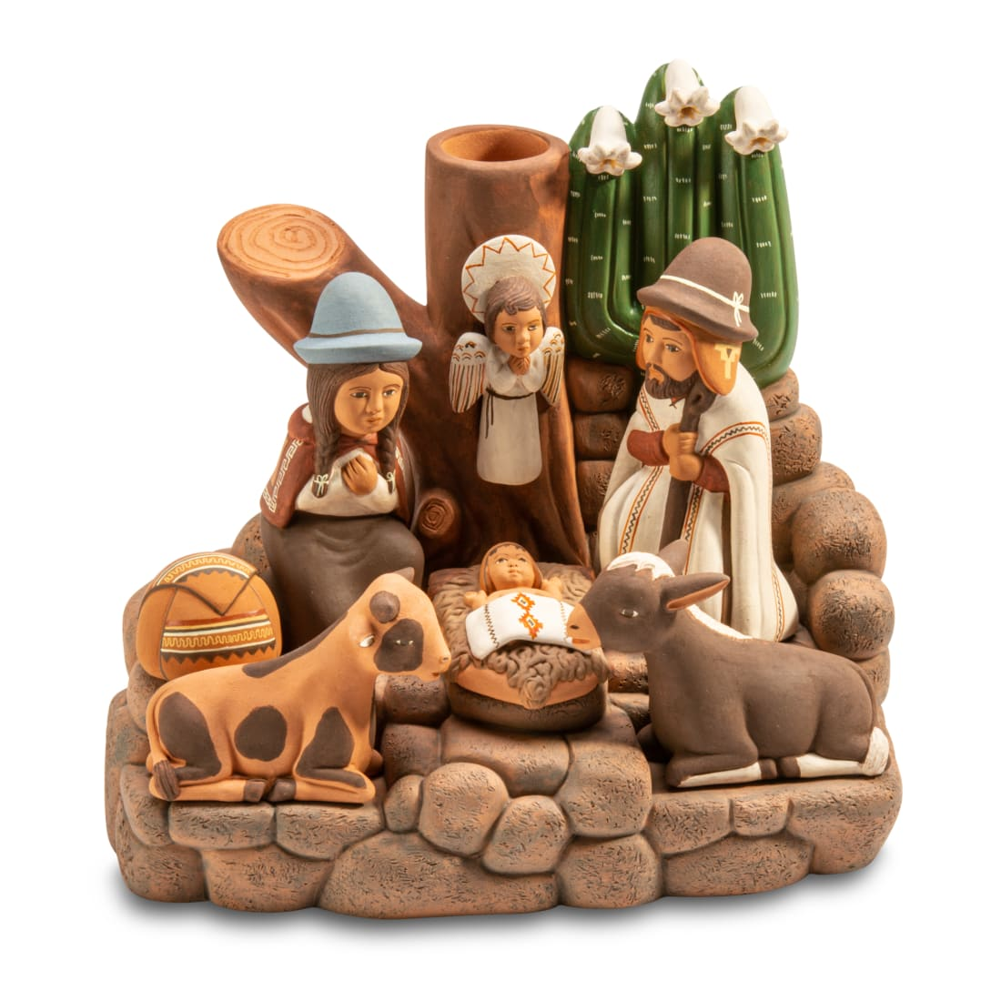 Holy Family with Cactus