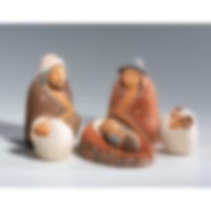 FVN115M Nativity & Two Sheep