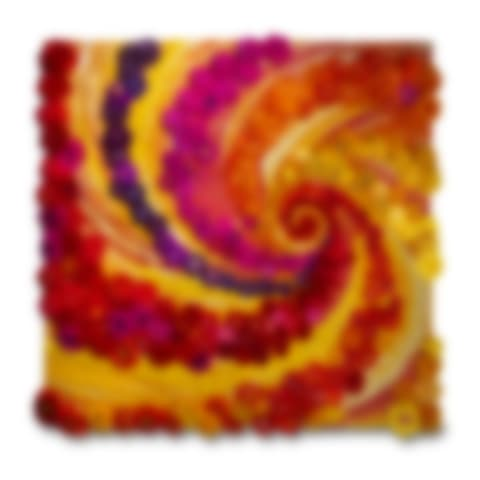 Fancy Flower Swirls - Abstract