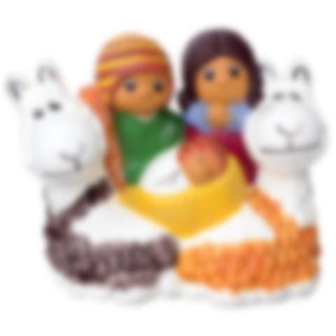 FAN133S Nativity with Llama