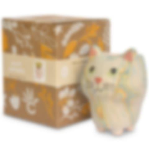 Cat - Swirly Pot