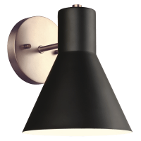 Towner One Light Wall / Bath Sconce Satin Brass
