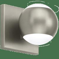Oko 1-Light Wall/Bath 1 Light Satin Nickel 3000K 90 CRI led 90 cri 3000k 120v