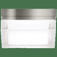 Boxie Small Flush Mount Small Satin Nickel 3000K 90 CRI led 3000k 277v
