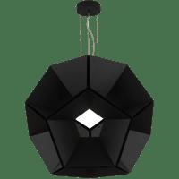 "Hex 36 Pendant 36"" Diameter Black/Black 3000K 90 CRI LED 90 CRI 3000k 120v"