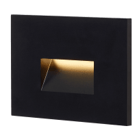 Ikon Outdoor Step Light Black 2700K/3000K Selectable 90 CRI 120V