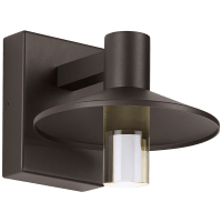 Ash 8 Outdoor Wall Bronze Cylinder 2700K 90 CRI 2700K Low Output, Button Photocontrol