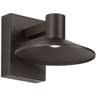 Ash 8 Outdoor Wall Bronze Dome 2700K 90 CRI 2700K Low Output