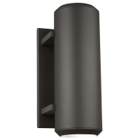 Aspenti 14 Outdoor Wall Bronze 3000K 90 CRI integrated led 90 CRI 3000k 120v (t24)