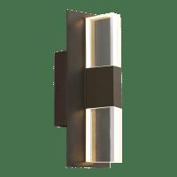 Lyft 12 Outdoor Wall Bronze Clear 3000K 80 CRI