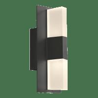 Lyft 12 Outdoor Wall Black Diffuser 3000K 80 CRI In-Line Fuse