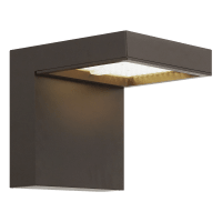 Taag 10 Outdoor Wall Bronze 4000K 80 CRI, In-Line Fuse