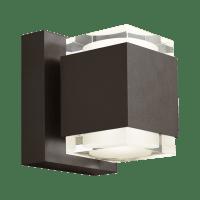 Voto 6 Outdoor Wall Bronze 3000K 80 CRI Uplight & Downlight