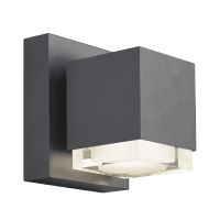 Voto 6 Outdoor Wall Charcoal 4000K 80 CRI Downlight Only