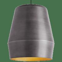Allea Pendant Fossil Gray No Lamp