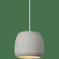 Karam Small Pendant Small Concrete/White no lamp