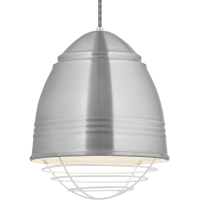 Loft Pendant Brushed Aluminum no lamp