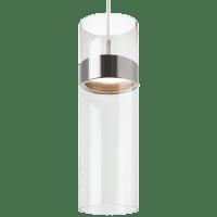 Manette Grande Pendant Clear Glass Satin Nickel/Satin Nickel 3000K 90 CRI led 3000k 120v
