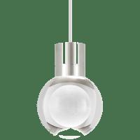 Mina Pendant 1-LITE Clear Satin Nickel White 3000K 90 CRI LED 120v (t24)