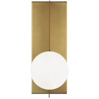 Orbel Wall  Aged Brass 3000K 90 CRI bi-pin g9 led 90 CRI 3000k 120v (t20/t24)