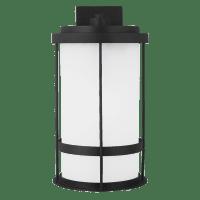 Wilburn Extra Large One Light Outdoor Wall Lantern Black Bulbs Inc Dark Sky