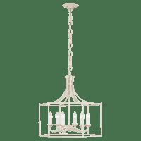 Bantry House Wide Lantern Blush