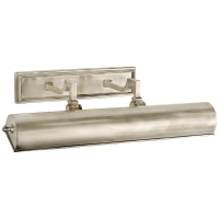"""Dean 18"""" Picture Light in Brushed Nickel"""