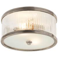 Randolph Small Flush Mount in Antique Nickel