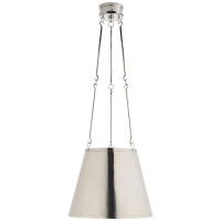 Lily Hanging Shade in Polished Nickel