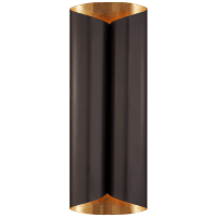 Selfoss Large Sconce in Bronze and Gild