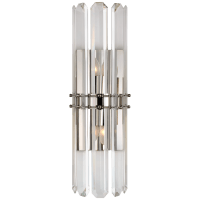 Bonnington Tall Sconce in Polished Nickel