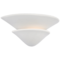 Mollino Tiered Sconce in Plaster White