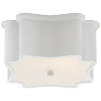 Bolsena Deco Flush Mount in White