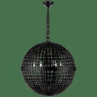Mill Large Globe Lantern in Aged Iron
