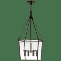 Cochere Medium Lantern in Bronze